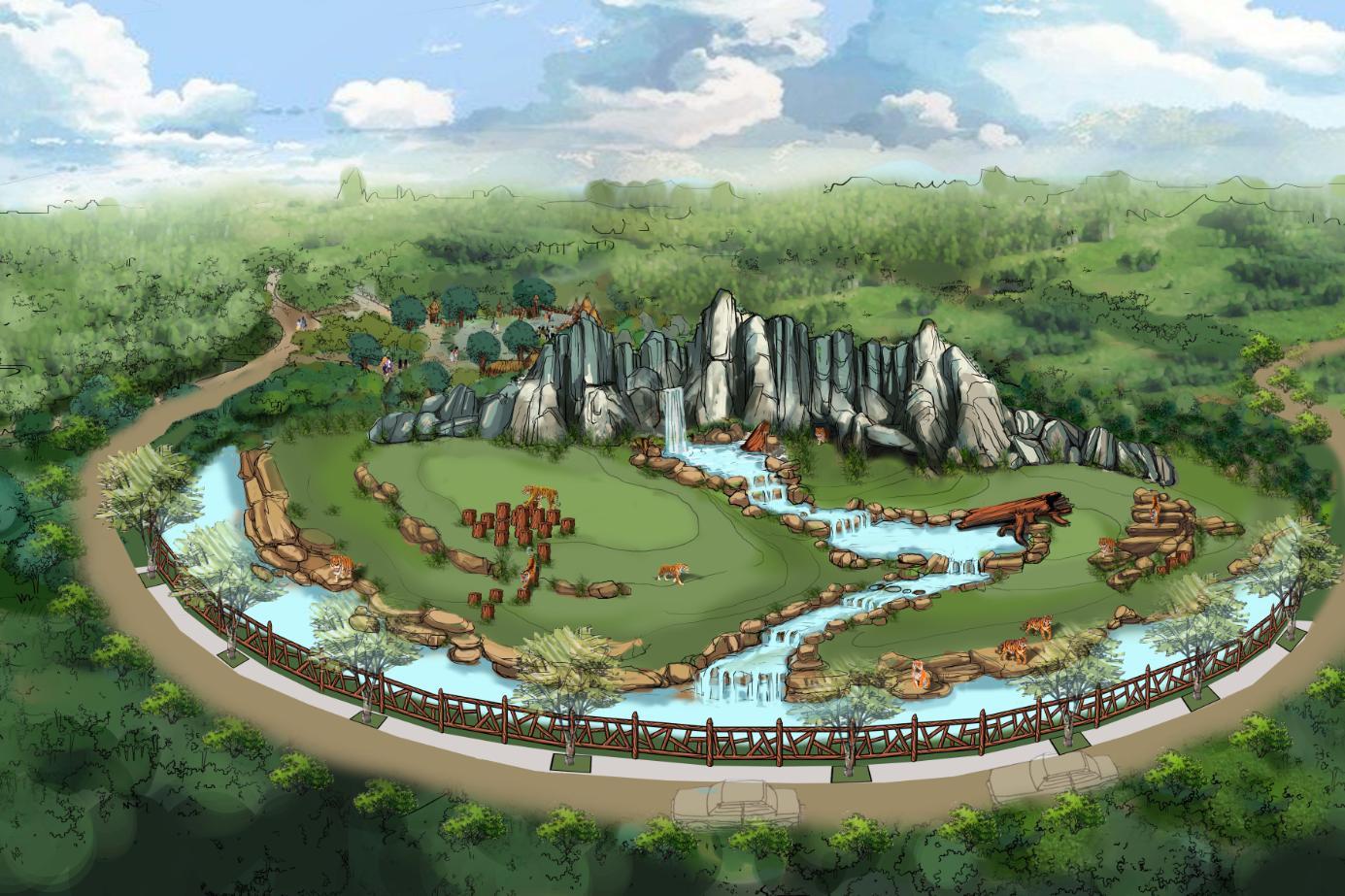 南通森林野生动物园新闻发布会隆重举行!图片