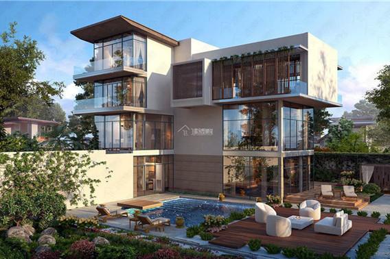 三层实用又好看的乡村小别墅设计户型,这两套绝对称