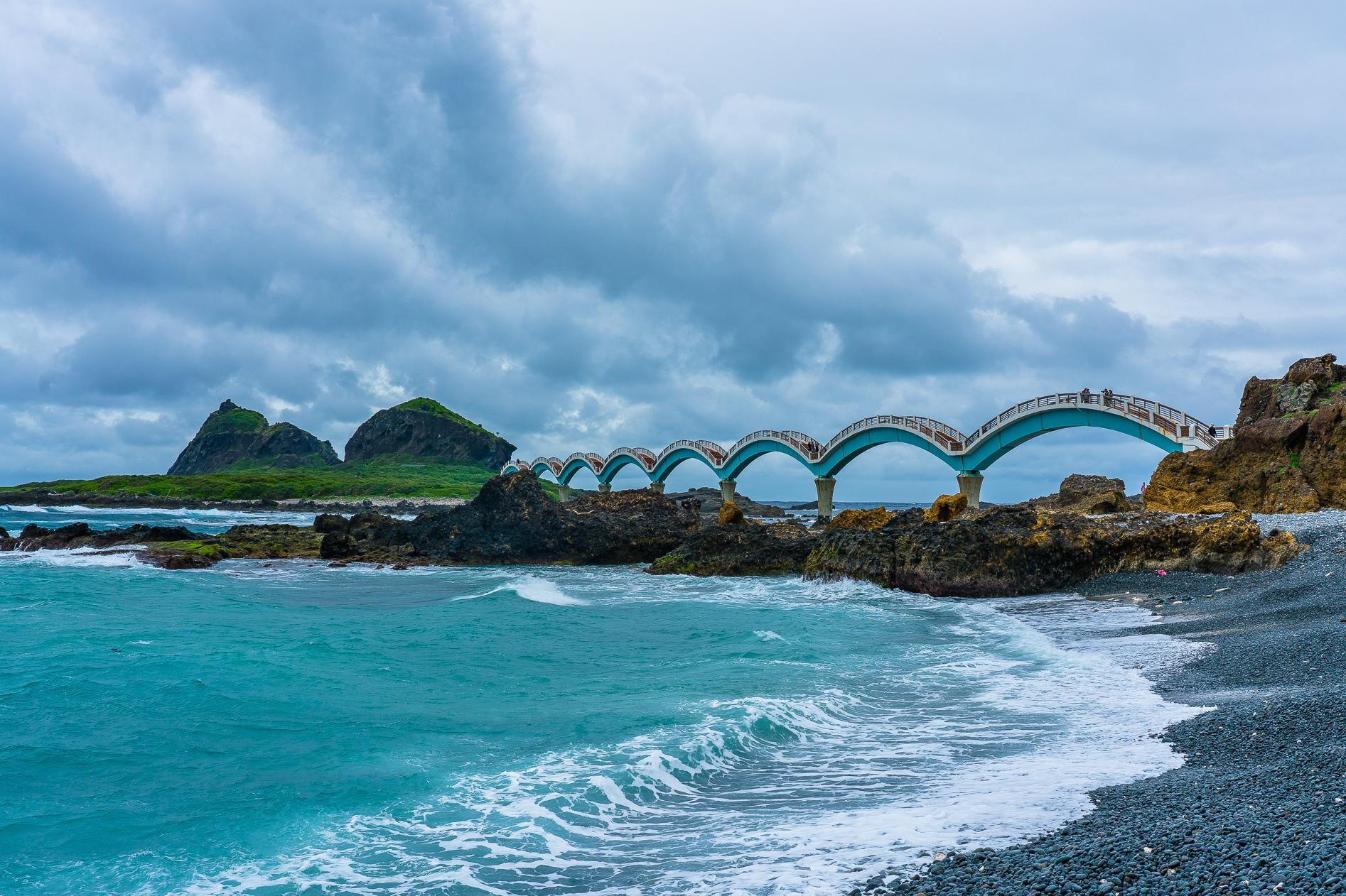 台东多地震,它的海滨风景在台湾也是唯一的