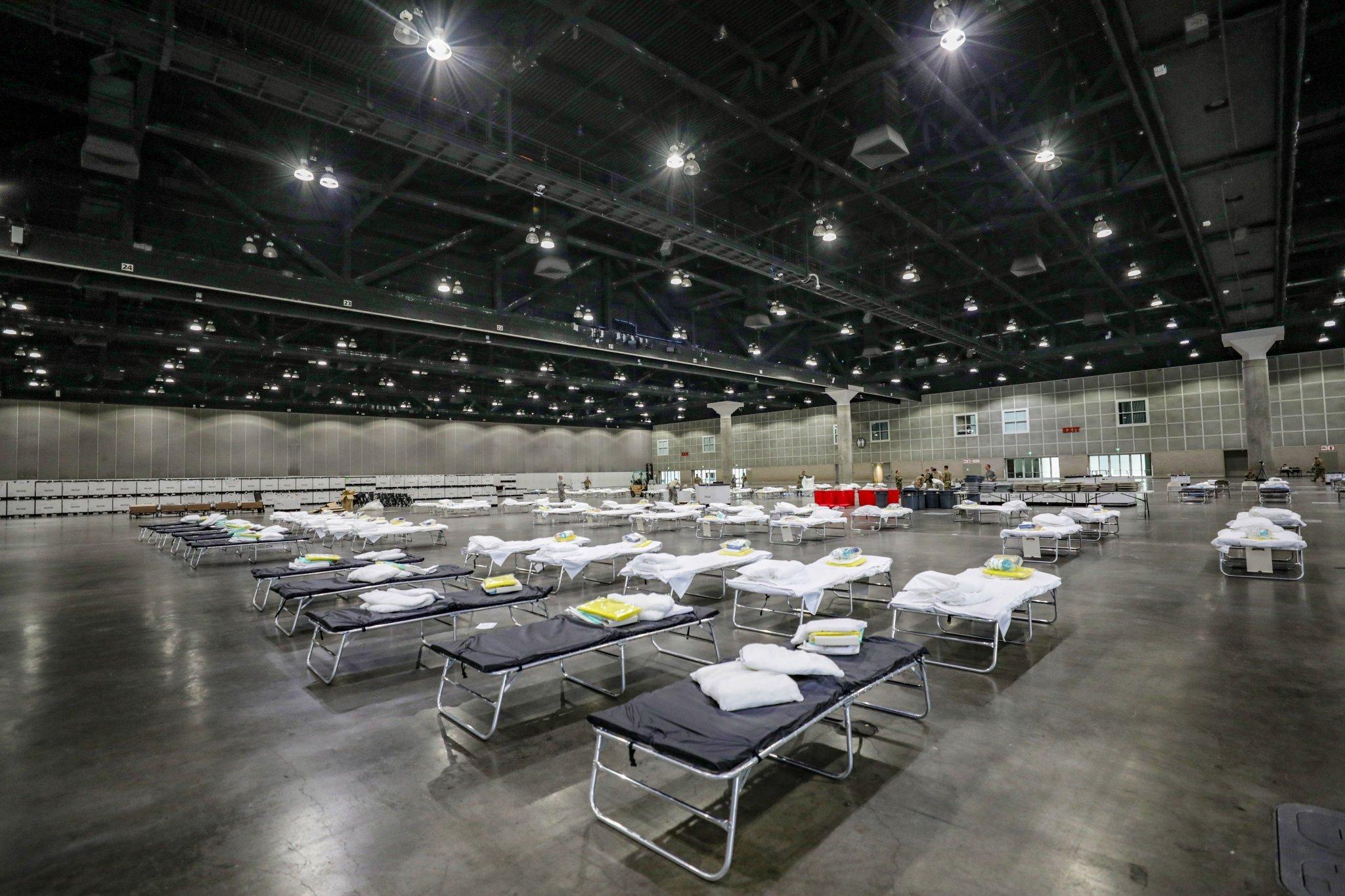 湖人主场或将改造成方舱医院