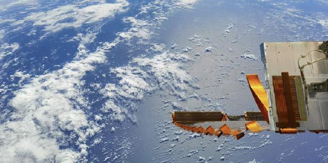 神舟十二号航天员太空视角看地球之美