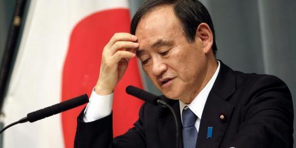 日本首相菅義偉或將于本月辭去首相一職