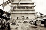 光绪年间北京城,曾被八国联军炮击的朝阳门