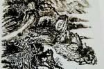 【刘正成推荐】著名四川诗人鄢家发的山水画——不仅是乡谊和曾经的同僚!