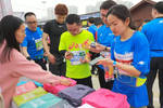 燃爆��4000余人开跑武汉大学生樱花半程马拉松��