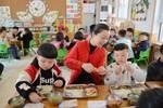 阜阳这些中小学��幼儿园开始校长��园长��陪餐了��菜谱曝光��