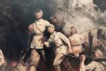 这位开国少将为了不让战士们受伤��?#28814;?#24049;炸成了独臂将军
