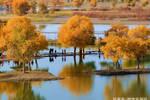 一片��沙漠湖��枯竭了20多年��20多亿吨水注入后��死而复生了