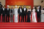 戛纳电影节DAY1?#27735;?#20432;&刘涛红毯争艳