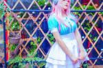 超级索尼子cosplay,小姐姐粉粉嫩嫩超可爱
