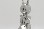 """全球""""最贵兔子""""诞生 创在世艺术家最高拍卖价"""