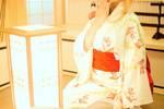 cos:魔法少女-金鱼浴衣的木之本樱。