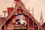 美国著名画家Rockwell笔下的20世纪市井生活