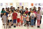 新四军老战士后代在北京悦¡¤美术馆讲述红色故事