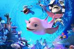 �赢��影《海底�粝氤恰范�n十一,用�粝朦c亮海底