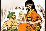 海�\王948��D片分析:索隆早已看穿小菊是男的,小菊的面具大有�眍^