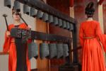 河南信陽出土一套兩千年編鐘 演奏東方紅隨人造衛星響徹太空