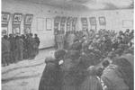 老照片 1954年美國空投特務罪證展 真的是罪證如山