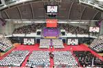 清華大學師姐開學典禮上發言,長相甜美氣質佳,網友直呼要考清華