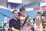 清華大學迎來開學季,武亦姝、楊晨煜陸續到場,學霸氣場真足