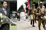 今天是日本投降74周年紀念日,安倍晉三向靖國神社獻上祭祀費
