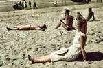 八十年前北戴河,海濱的摩登女郎們