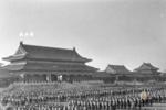 老照片:直擊鏡頭下北洋政府慶祝一戰勝利、太和殿下各國旗幟飄揚