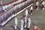 香港回歸前夕的珍貴老照片:最后一次降下英國國旗