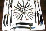 刀在十八般兵器中排位第一,其實很可能在古代戰場上很少用刀