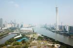 70年城市中轴线变迁折射广州经济结构之变