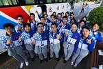 清华紫+志愿蓝,我们愿做五星红旗灿烂光华中淡淡的一笔