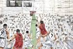 灌篮高手这段时间湘北夺得3次关键球权,山王输掉精神层面的对决