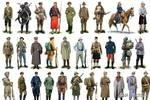 世界军服百科:图解第一次世界大战德国骑兵军服