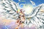 ��珠:大神官才宇宙前五,�十二位天使合�w,能和大神官抗衡��