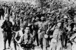 東南亞戰役真實老照片:一路入侵瘋狂的日軍、英美士兵成為戰俘