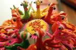 """""""花饃""""從食物到藝術品,是對傳統文化的傳承與老百姓智慧的肯定"""