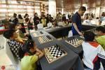 2109中國國際棋文化博覽會開幕 小棋手與AI比棋藝