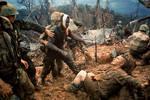 越南戰爭彩色老照片:美軍入侵下越南平民的災難