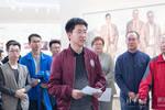 """《愿以身许国——""""两弹一星""""元勋中的清华人》专题展在清华大学校史馆开幕"""