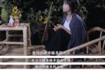 李子柒參加成都國際非遺節,穿著旗袍婀娜多姿,不像干過農活的人