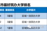 最新最全!2019中國一二三四五各線城市最好大學排名!