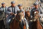 被马步芳打的只剩3人,他乞讨回延安,12年后,灭2.7万马家军