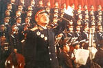 230多位将军组成合唱团,这位开国少将是武汉人,负责朗诵