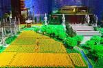 這才是樂高的真正魅力!用500萬顆積木拼出一個中國