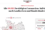 德国新增新冠病例4349例,累计66884例死亡645例