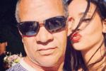 蕾哈娜父亲曾感染新冠肺炎 经治疗已痊愈回家休养