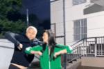 林瑞阳与张庭夫妇合体跳舞 画风搞笑活力四射