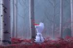 《冰雪奇缘》番外短片第四弹上线 数树叶的雪宝来啦
