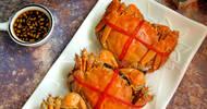 清蒸螃蟹有门道,掌握这5点,蟹肉鲜嫩无腥味,蟹黄蟹膏不流失