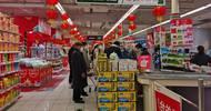 实拍上海过年景象,超市井然有序年货丰富,堪称最有年味的地方
